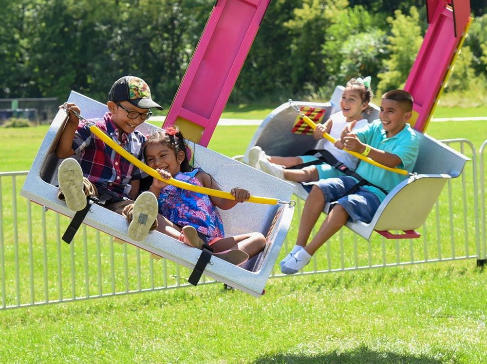 Sturgis Fest Carnival Ride: Ballistic Swing
