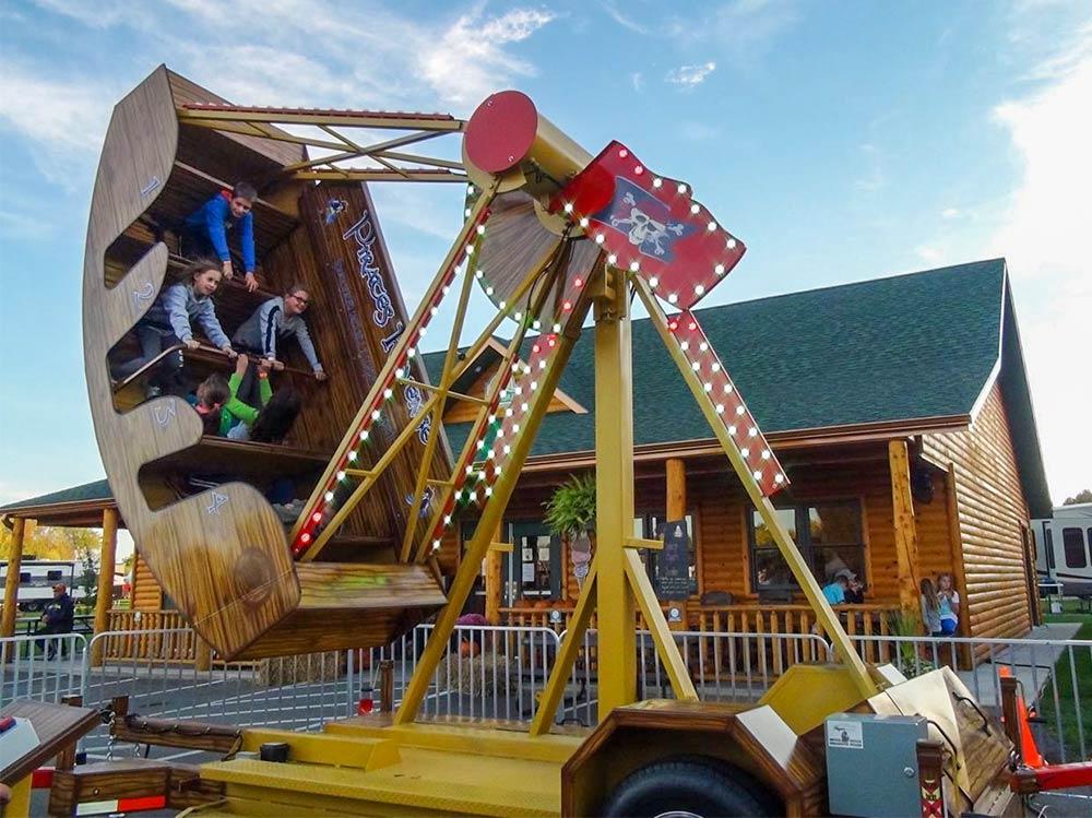 Sturgis Fest Carnival Ride: Pirate's Revenge