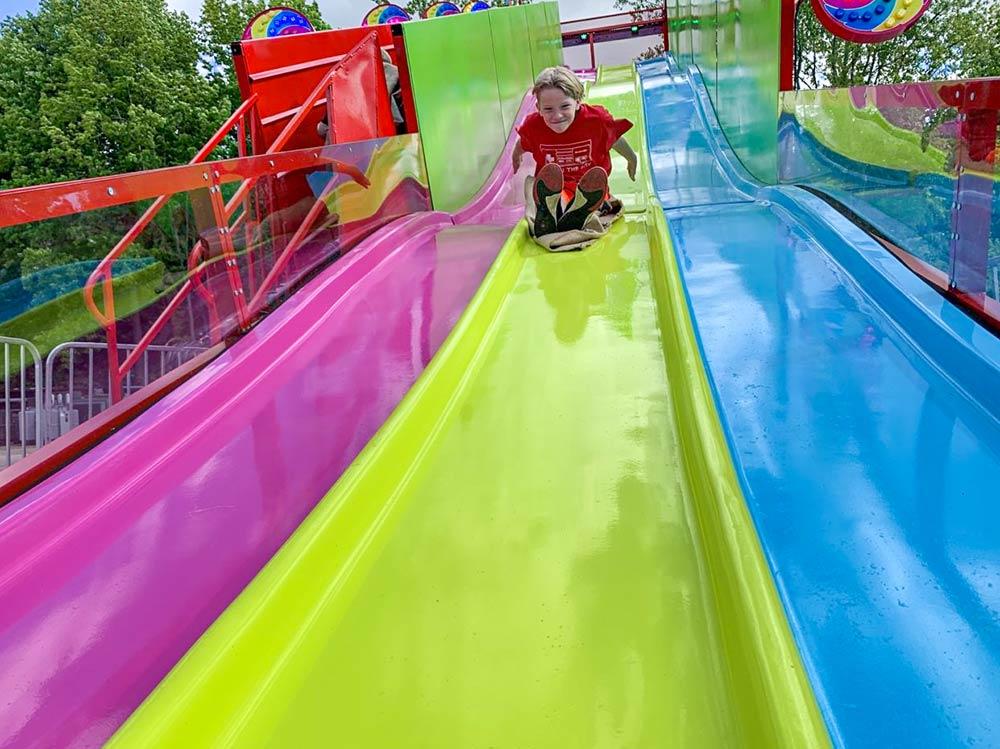 Sturgis Fest Carnival Ride: Velocity Slide